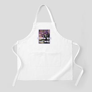 Make Art Not War BBQ Apron
