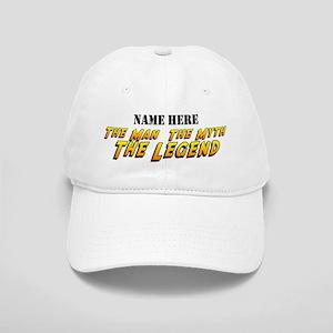 Man Myth Legend Custom Cap