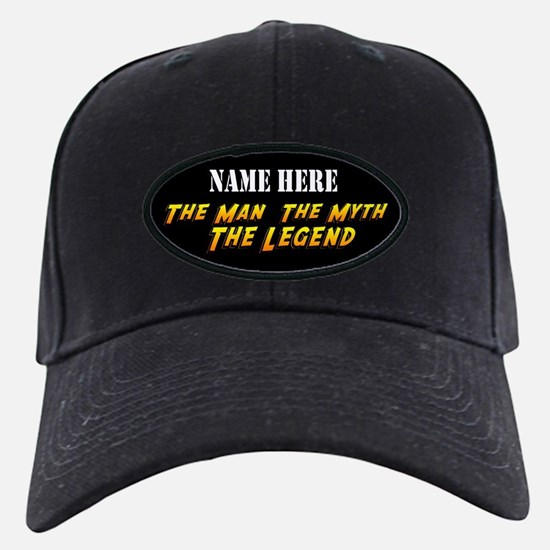 Man Myth Legend Custom Baseball Hat