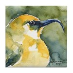 Honeycreeper Tile Coaster