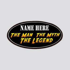 Man Myth Legend Custom Patches