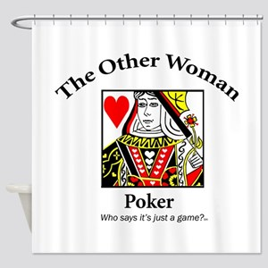 The Other Woman Shower Curtain