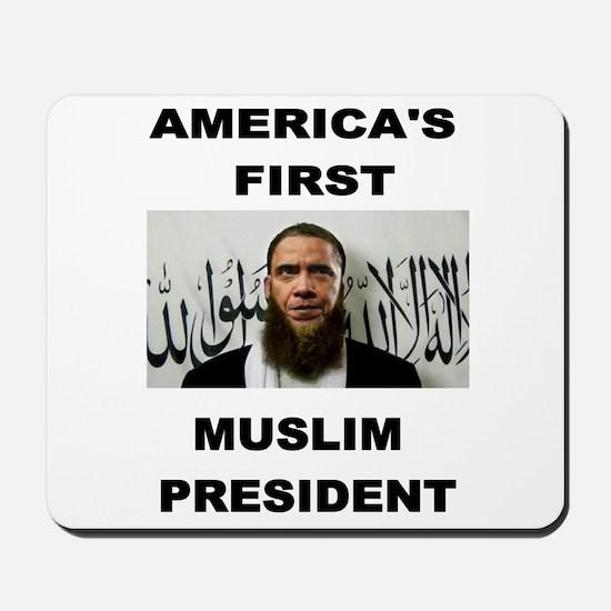 MUSLIM PRESIDENT Mousepad