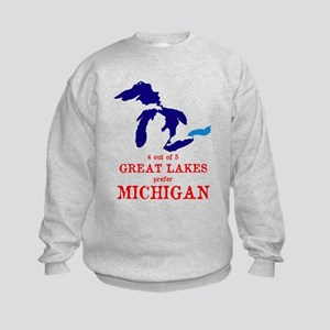 4 out of 5 Great Lakes Kids Sweatshirt