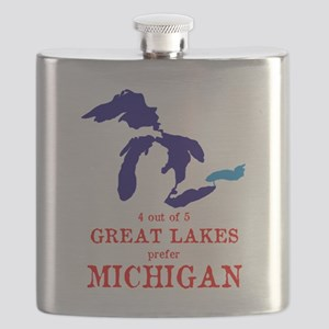4 out of 5 Great Lakes Flask