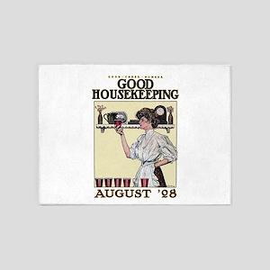 Good Housekeeping 5'x7'Area Rug
