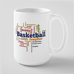 Basketball Word Cloud Mugs