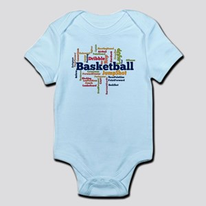 Basketball Word Cloud Body Suit