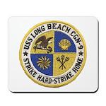 USS LONG BEACH Mousepad