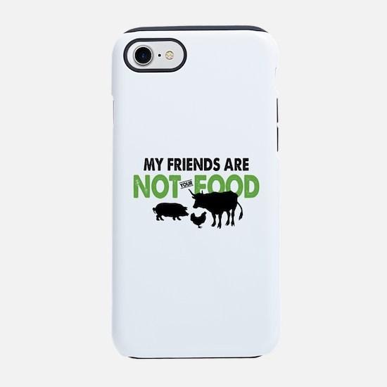 Not Food Vegan iPhone 7 Tough Case