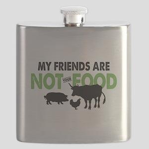Not Food Vegan Flask