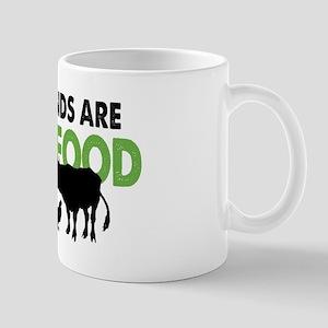 Not Food Vegan 11 oz Ceramic Mug
