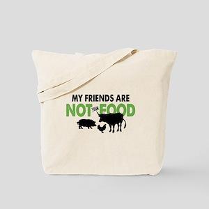 Not Food Vegan Tote Bag