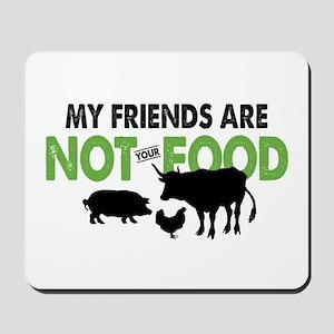 Not Food Vegan Mousepad