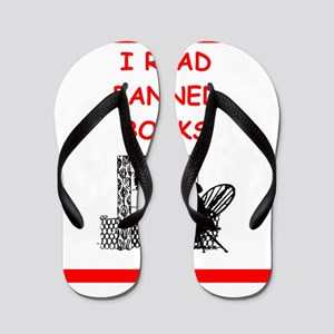 banned books Flip Flops