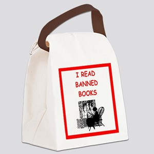 banned books Canvas Lunch Bag