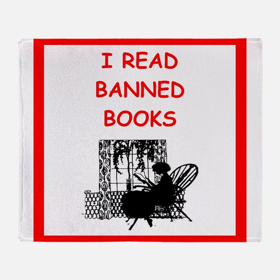 banned books Throw Blanket