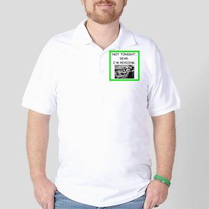 book lover Golf Shirt