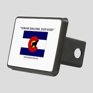 Colorado flag Newf Hitch Cover