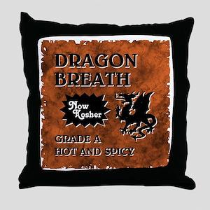 DRAGON BREATH Throw Pillow