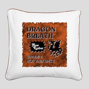 DRAGON BREATH Square Canvas Pillow
