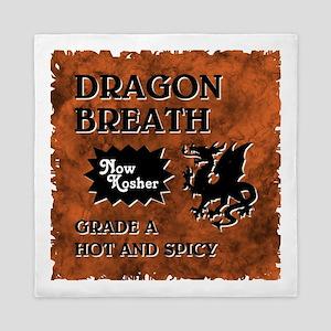 DRAGON BREATH Queen Duvet