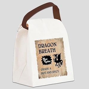 DRAGON BREATH Canvas Lunch Bag