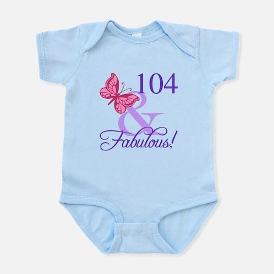 Fabulous 104th Birthday Body Suit