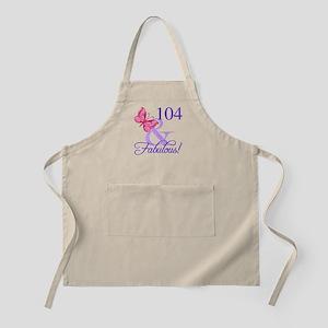Fabulous 104th Birthday Apron