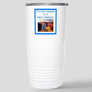 west virginia Travel Mug