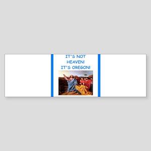 oregon Bumper Sticker