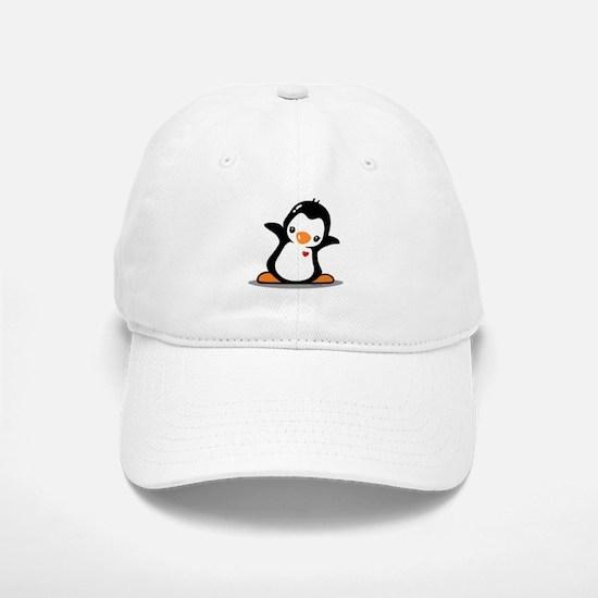 Hey Penguin! Baseball Baseball Cap