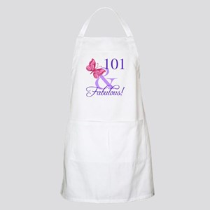 Fabulous 101st Birthday Apron
