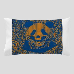 Bluish Yellow Panda Pillow Case