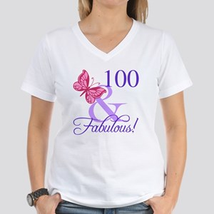 Fabulous 100th Birthday T Shirt