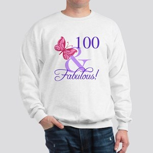 Fabulous 100th Birthday Sweatshirt