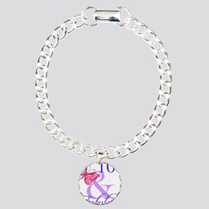 Fabulous 100th Birthday Charm Bracelet, One Charm