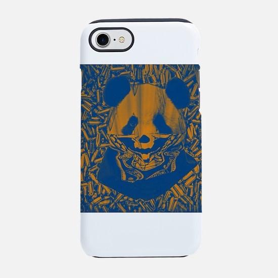 Bluish Yellow Panda iPhone 7 Tough Case