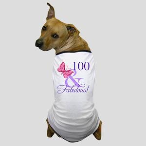 Fabulous 100th Birthday Dog T-Shirt