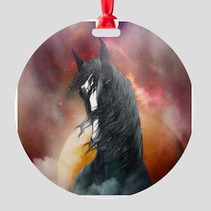 Fantasy Shire Horse Ornament
