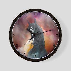 Fantasy Shire Horse Wall Clock