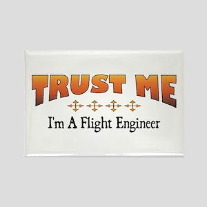 Trust Flight Engineer Rectangle Magnet