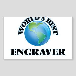 World's Best Engraver Sticker