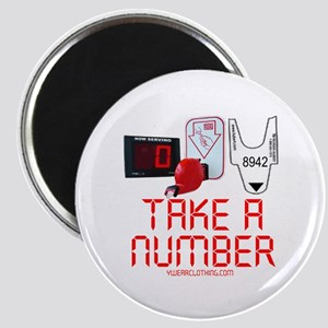 Take a Number Magnet