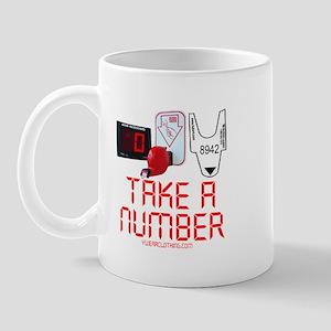 Take a Number Mug
