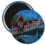 """Vancouver Canada Souvenir 2.25"""" Magnet (100 pack)"""