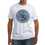 USS OKLAHOMA CITY Fitted T-Shirt