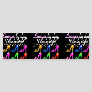 LAWYER SHOE QUEEN Sticker (Bumper)
