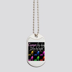 LAWYER SHOE QUEEN Dog Tags