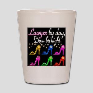 LAWYER SHOE QUEEN Shot Glass